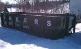 Lakers New Prague Sanitary 30 Yard Commercial Rolloff Dumpster